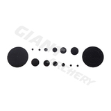 ARC SYSTEME CIRCLES AND DOTS BLACK