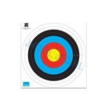 JVD TARGET FACE FITA 80CM WITH NUMBERS