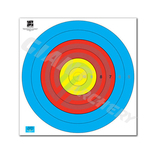 JVD Target Face Fita Waterproof 80cm Centre 6-Ring (43*43cm) 1장 부직포표적지